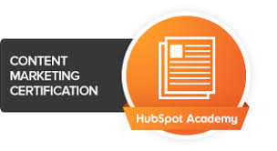 Content marketing certificate