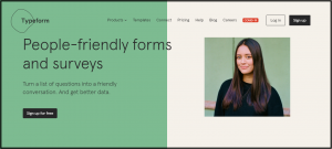 Typeform- Data Collection Software